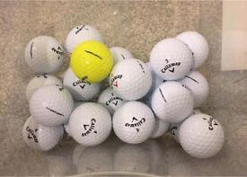 Callaway CXR Power 20 Grade A golf balls