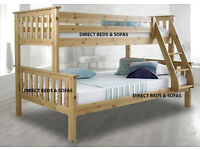 TRIPPLE SLEEPER BUNK BED