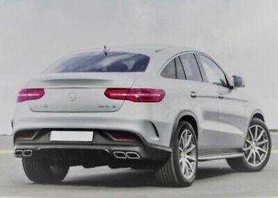Heckspoiler geeignet für Mercedes GLE Coupe C292 in A-Still aus ABS unlackiert