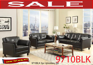 modern sectional  living room sets, sofas, love seats, 9710BLK