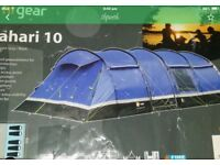 Tent ten man and trailer