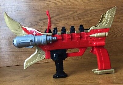 Power Rangers Super Mega Force Cannon Bandai Blaster Weapon Gun Works (Power Rangers Mega Blaster)