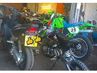 m2r 110cc Pitbike (not cr,crf,rm,rmz,kx,kxf,stomp,demonx)