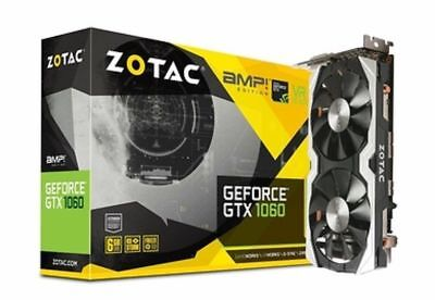 ZOTAC GeForce GTX 1060 6GB GDDR5 PCI-E 3.0 Graphics Card (ZT-P10600B-10M)