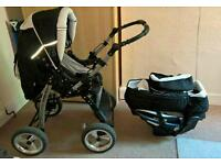 BabyMERC pushchair 5in1 excellent condition! !!!