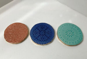 Mint Condition- ANTHROPOLOGY Coasters (Set of 3)