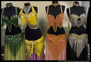 Egyptian belly dancing costumes