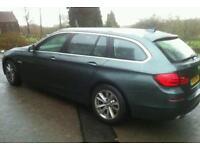 BMW 520 estate 61 plate