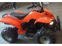 Qaud 150cc auto , electric start , lights etc , not lt80 Honda ram