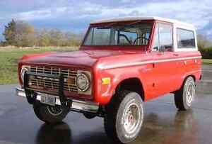 Early Bronco 1966-1977