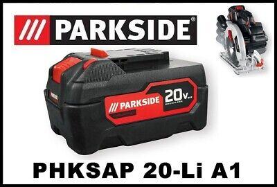 5Ah Bateria Sierra circular Parkside PAPP 20 B2 20v SAW PHKSAP 20 Li A1