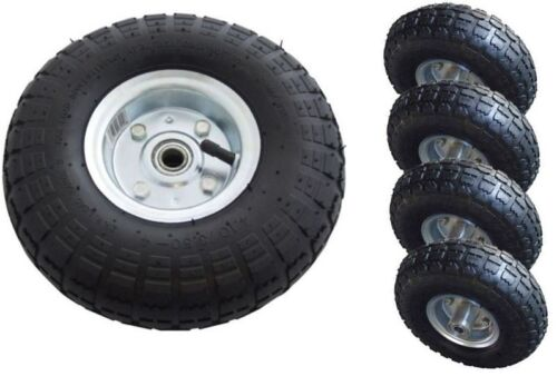 Quot replacement tyres pneumatic trolley wheel barrow cart