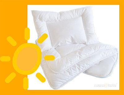 Baby Bettwäsche Bettset Bettdecke 100x135cm / Kopfkissen 40x60cm
