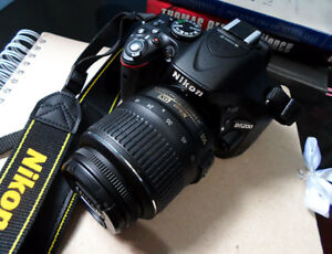 Brand New Nikon D5200 With Case + Lens