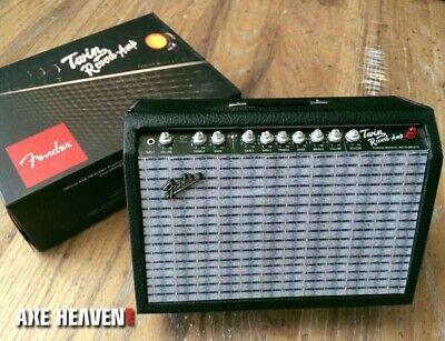 Fender Twin-Reverb Miniature Guitar Amplifier 1:4 Scale Replica ~Axe Heaven~