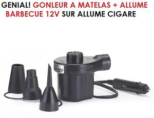 Genial gonfleur a matelas allume barbecue gonfleur - Gonfleur allume cigare ...