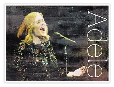 Плакаты и картинки Adele Concert Poster
