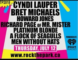 Rock the park 80s night! VIP tables & standing VIP