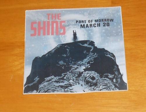 The Shins Port of Morrow Sticker Original Promo 3x3 square