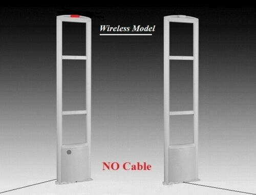 Wireless NO Cable in-between EAS Checkpoint Compatible Security Antenna system