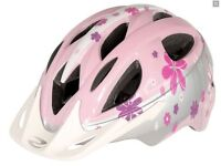 (2511) NEW, DAWES CHIPPER GIRLS HELMET CHILD YOUTH CYCLING BIKE BICYCLE SIZE: 46-53cm, PINK