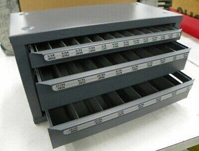 13000 Huot Fractional Jobber Drill Dispenser  Tb106