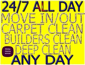 AFFORDABLE, SHORT NOTICE, ALL LONDON END OF TENANCY CLEANING CARPET DEEP DOMESTIC CLEANERS SERVICES