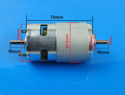 795 Motor 12v-24v 288w Dc Motor High Speed Large Torque