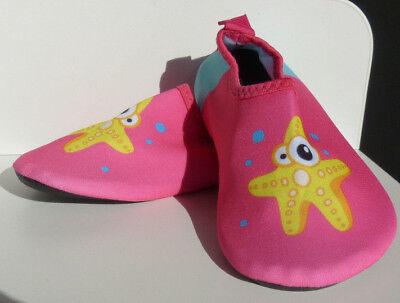 Seestern Pink ( Seestern Pink Kinder Aquaschuhe Baby Wasserschuhe Schwimmschuhe Gr. 24-35)