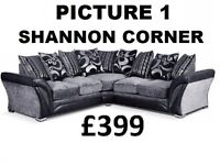 TODAY ONLY BRAND NEW DFS LEATHER OR FABRIC 3+2 OR CORNER SOFA + DELIVERY