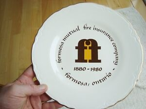 Set of 5 Formosa Mutual Insurance Co. Collector Plates - Mint Kitchener / Waterloo Kitchener Area image 2