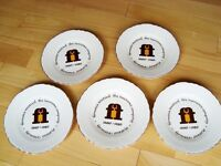 Set of 5 Formosa Mutual Insurance Co. Collector Plates - Mint