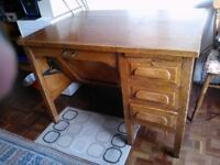 Antique office/study desk