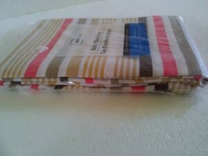 Brand new Mainstays striped long body pillow sham cover London Ontario image 4