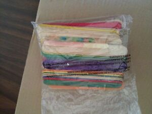 Large sized coloured popsickle sticks for crafts London Ontario image 3