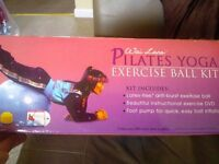 Pilates Yoga Exercise Ball Kit