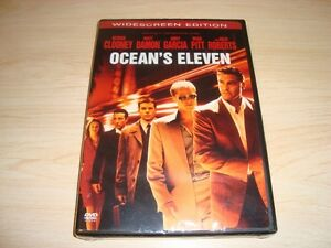 Ocean's Eleven - BRAND New Unopened DVD -Widescreen Edition Kitchener / Waterloo Kitchener Area image 3