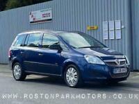 2008 Vauxhall Zafira 1.6i Life 5dr - low miles - new MOT MPV Petrol Manual