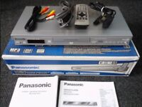 Panasonic DVD S27 DVD and CD Player Silver Region 2 Scart