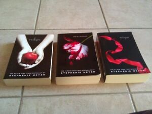Set of 3 Novels Twilight, New Moon, Eclipse Paperback London Ontario image 2