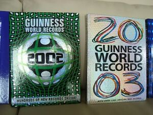5 Guinness World Records Hardcover Books - Excellent Condition Kitchener / Waterloo Kitchener Area image 3