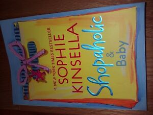 SHOPAHOLIC AND BABY  by Sophie Kinsella  Paperback Like new London Ontario image 1