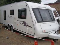 Compass Rallye, 4 berth, twin axel, 2009, motor mover, 2 awnings plus lots of extras.