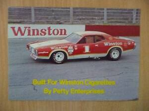 1974 Winston Cup Grand National Dodge Charger Showcar Card Ocean Reef Joondalup Area Preview