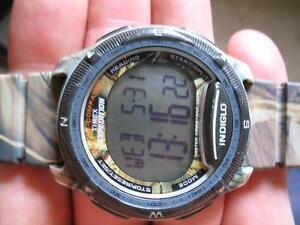 Timex Camo watch with Digital-Compass