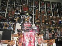 I want your WWE and McFarlane sports figures!