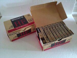 SONY HF HI-FI RECORDING 60 MINUTES 100 MINS AUDIO CASSETTES London Ontario image 1