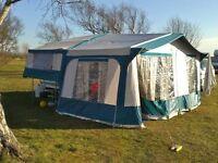 Folding Camper-Pennine Fiesta 4 Berth