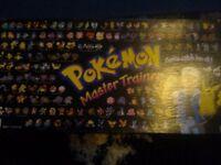 Pokemon Master Trainer - Complete Board Game - Rare