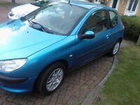 Peugeot 51 206 light blue